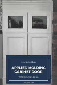 applied molding cabinet door