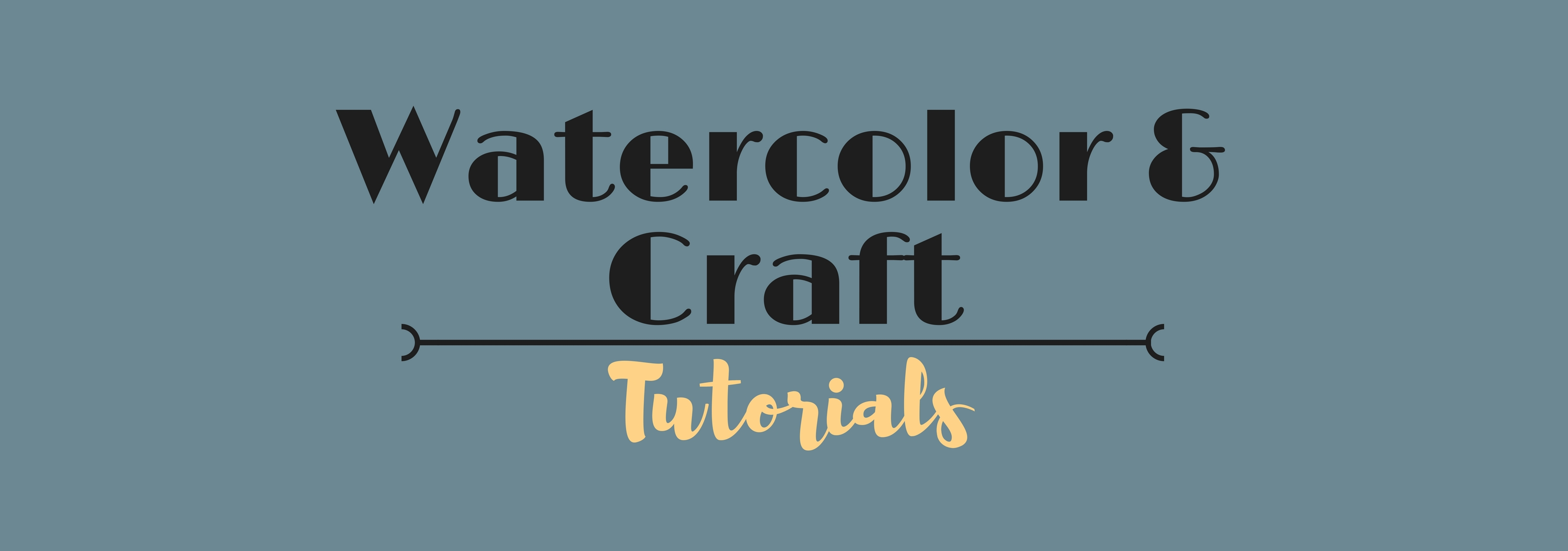 watercolor and crafts