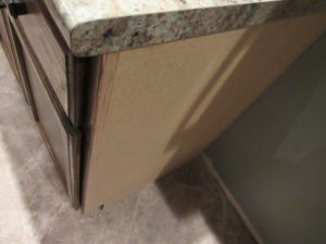 exposed mdf on sides