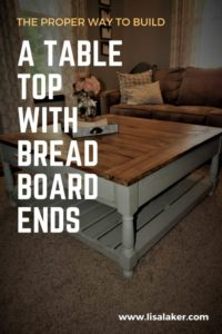 breadboard table top