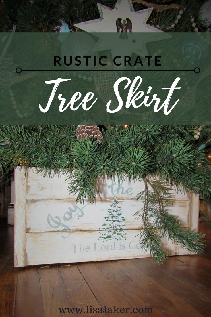 tree skirt crate