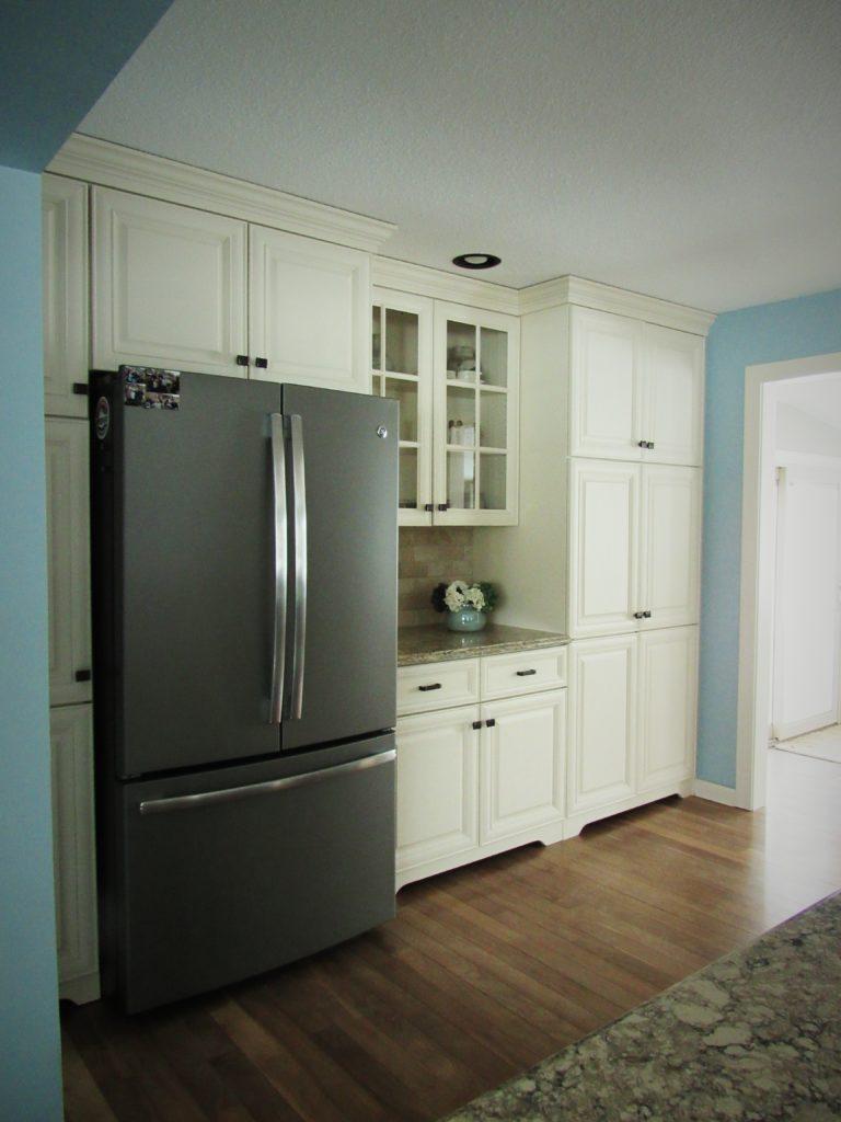 fridge wall