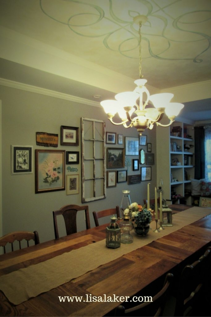 eclectic dining room remodel