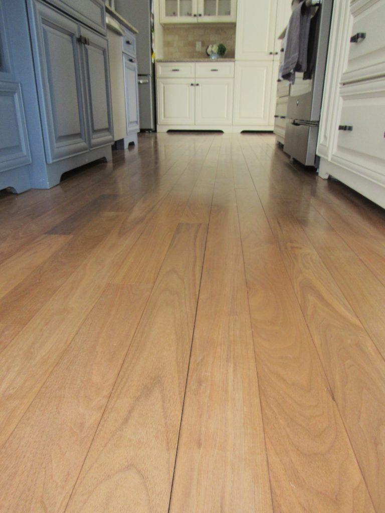 toe kicks walnut floors