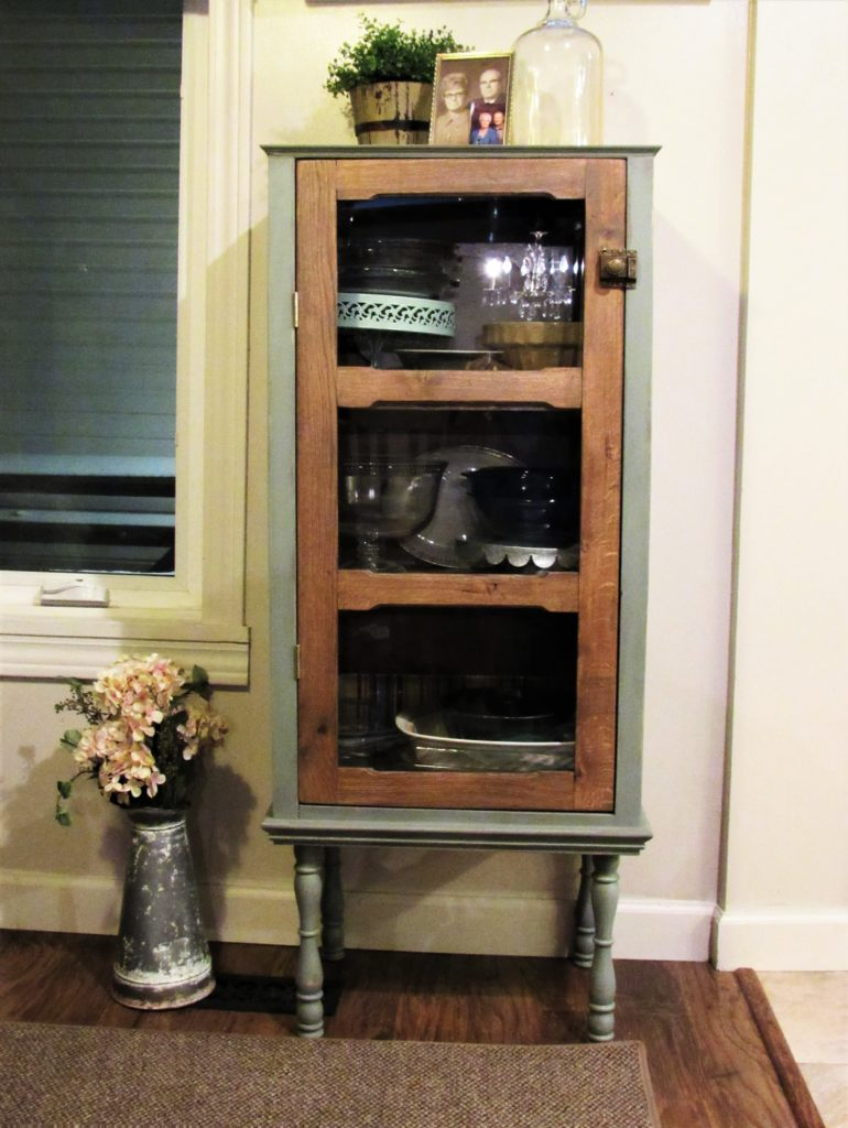 Antique Style Cabinet Door Lisa Laker Interior Design